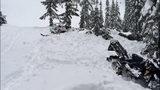 Avalanche scene near Mirror Lake - Kittitas County Sheriff's Office