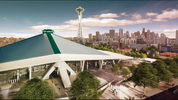Renderings of a renovated KeyArena. (Images via Oak View Group)