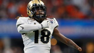 One-handed twin brother of Seahawks CB Shaquille Griffin runs historic 40 yard dash at combine
