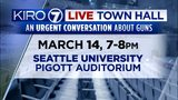 KIRO 7 Live Town Hall: An urgent conversation about guns