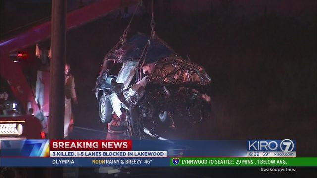 2 victims in triple fatal Lakewood crash identified | KIRO-TV