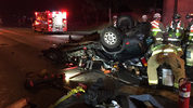3 killed in possible DUI hit-and-run crash on SB I-5 in Lakewood. Courtesy of Washington State Patrol.
