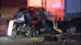 A driver was killed after slamming into the back of a parked semi on SB I-5 just south of Highway 18.