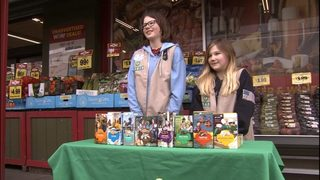Woman buys $600 worth of Girl Scout cookies, has Scouts give out free to strangers