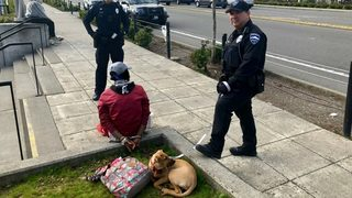 Police recover stolen dog in Tukwila, reunite dog with loved one