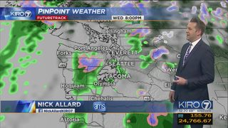 KIRO 7 PinPoint Weather video for Tues. afternoon