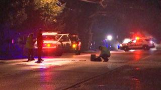 Pedestrian hit by car found lying on SeaTac road