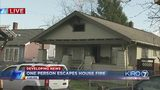 VIDEO: One person escapes house fire in Auburn