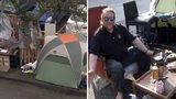 VIDEO: Homeless sidewalk campers: 'We appreciate Seattle's liberal vibe'