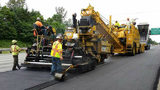 Paving work on a previous stretch of I-5 in 2017. (WSDOT)