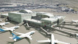 Rendering of Sea-Tac Airport North Satellite Terminal. Courtesy of Port of Seattle.