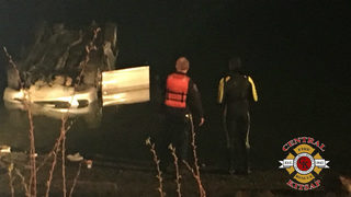 Unconscious man rescued from car in water in Bremerton