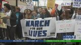 VIDEO: Local students participate in national school walkout