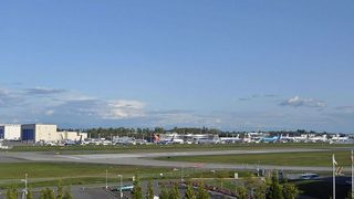 Everett getting rare, private US airport terminal