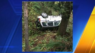 73-year-old man stuck in car for 12 hours after crash near Tiger Mountain