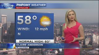 KIRO 7 PinPoint Weather Video for Sun. evening