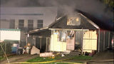 Everett home destroyed by flames
