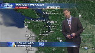 KIRO 7 PinPoint Weather video for Thur. morning