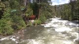 VIDEO: Eight-mile dam jammed with debris, eroding