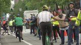 VIDEO: Bike lane safety rally