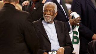 Basketball great Bill Russell hospitalized briefly in Washington state