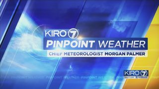 KIRO 7 PinPoint Weather Video for Monday Evening