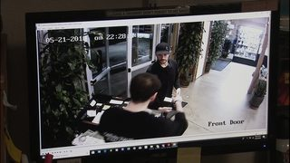 Surveillance video shows thieves with masks and guns rob Kirkland pot shop