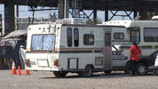 File photo of Homeless RV resident in a SODO parking lot.