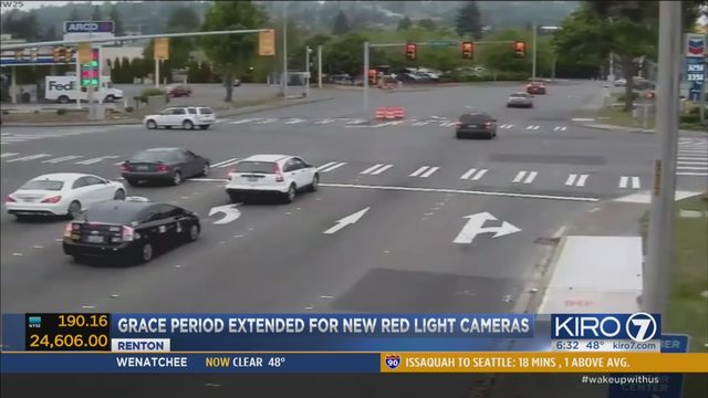 Red Light Camera Violation Warning Period Extended At 3 Renton  Intersections | KIRO TV