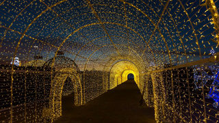 Enchant Christmas Seattle.World S Largest Christmas Light Maze Coming To Seattle Kiro Tv