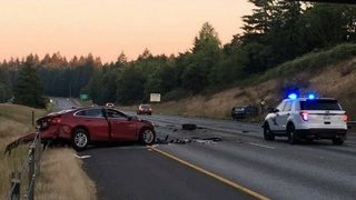 Man dead in wrong-way crash on I-5 5 in Lacey