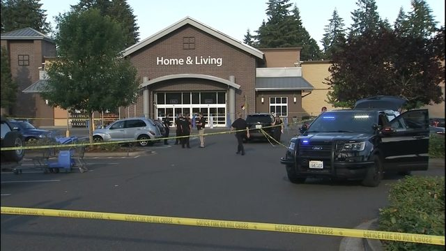 Police: Armed civilian took down shooter at Washington state Walmart