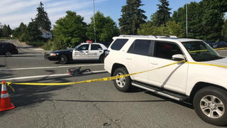 Teen bicyclist injured in crash with SUV