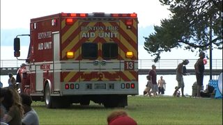 Bystanders pull man from water at Gene Coulon Park