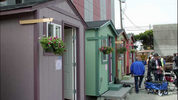Tiny houses on display May 30, 2018 as Seattle Mayor Jenny Durkan announced an increased effort to address homelessness with the homes.