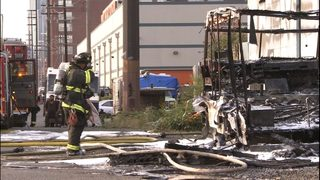 SoDo RV fire spreads to nearby warehouse