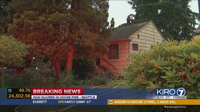 Greenwood house fire thought to be out reignites | KIRO-TV