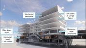 C-1 Building 3D Rendering Concept