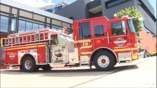 1 taken to hospital after fire at Seattle encampment