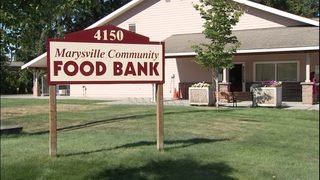 Thieves target Marysville food bank truck