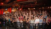 General view of atmosphere during a concert featuring Steve Aoki hosted by NetEase Games to celebrate the launch of its first mobile game in the West, Speedy Ninja at Showbox Sodo on August 28, 2015. (Photo by Mat Hayward/Getty Images for NetEase)
