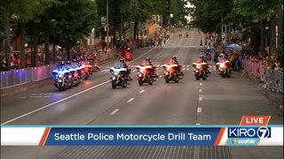 PHOTOS: Seafair Torchlight Parade 2018 | KIRO-TV