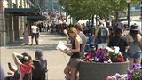 VIDEO: Thousands line up for Pearl Jam