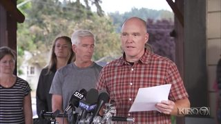 RAW VIDEO: Statement about Richard Russell, man who stole airplane from Sea-Tac, read by family friend (8-11-18)
