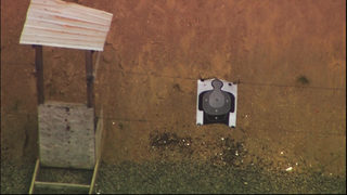 Officer shoots himself in leg during firearms training