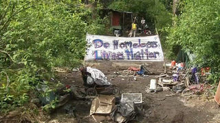 Leaked city documents give protesters heads-up on homeless camp cleanups