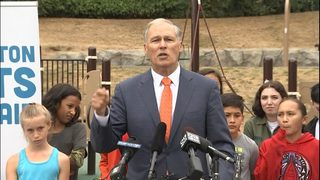 RAW: Gov. Inslee news conference on air quality conditions