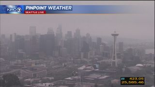 KIRO 7 PinPoint Weather video for Thurs. afternoon