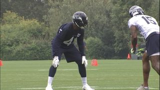 Maxwell working at right cornerback again; Marshall shines at practice