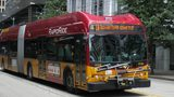 Note: Bus pictured is for current Rapid Ride Lines in Seattle.  Credit: Wikimedia Commons